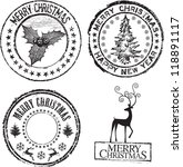 Merry Christmas Classic Stamp...