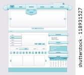 blue ice ribbon  user interface ...