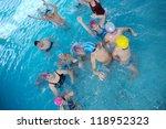 happy children kids group  at... | Shutterstock . vector #118952323