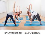 large group of diverse people... | Shutterstock . vector #119018803