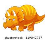 illustration of cartoon... | Shutterstock .eps vector #119042737