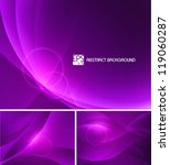 purple abstract background | Shutterstock .eps vector #119060287