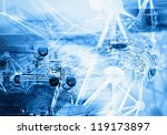 technology background  ... | Shutterstock . vector #119173897