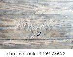Old weathered wooden table background no. 1 - stock photo