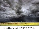 Storm Clouds Saskatchewan Wind...