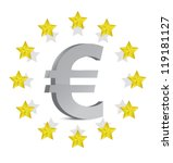 european euro illustration... | Shutterstock . vector #119181127