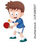 illustration of cartoon table... | Shutterstock .eps vector #119188507
