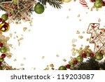 christmas frame | Shutterstock . vector #119203087