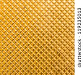 golden mosaic for background - stock photo