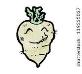 cartoon turnip | Shutterstock .eps vector #119235037