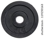 5 Lb Cast Iron Dumbbell Plate...