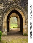 Entrance Arches Of Minster...