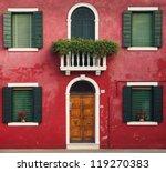 Colorful Houses Taken On Buran...