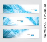 three abstract business banner... | Shutterstock .eps vector #119280853
