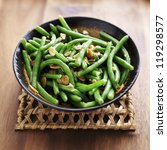 Green Beans With Almonds In...