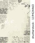 bordered background. grunge... | Shutterstock .eps vector #119424463