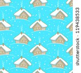 seamless winter pattern with...   Shutterstock .eps vector #119438533
