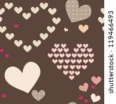 love pattern | Shutterstock .eps vector #119466493