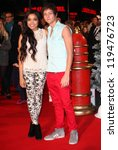 Small photo of Tyger Drew Honey and Dionne Bromfield arriving for the Nativity 2: Danger In The Manger Premiere, at Empire Leicester Square, London. 13/11/2012 Picture by: Alexandra Glen
