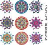 india ornament seamless | Shutterstock .eps vector #119482477