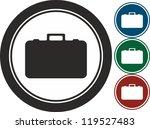 case  vector  icon   Shutterstock .eps vector #119527483