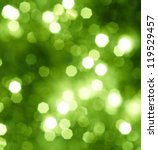 Abstract Green Glitter Or...