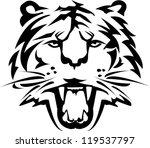tiger tattoo | Shutterstock .eps vector #119537797