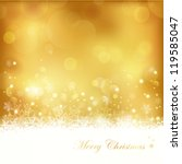 Festive Gold Background With...