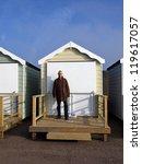 beach huts on the fylde coast | Shutterstock . vector #119617057