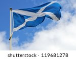 Scotland flag - stock photo