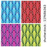 retro style seamless pattern ... | Shutterstock .eps vector #119686363