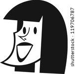 littleheads women | Shutterstock .eps vector #119706787