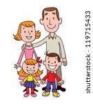 family | Shutterstock . vector #119715433