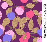 seamless vector texture with... | Shutterstock .eps vector #119753983