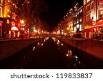 Red Light District In Amsterda...