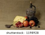Still Life With A Clay Pitcher