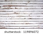 grungy white aged panel natural wood background - stock photo