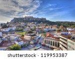 monastiraki square and...   Shutterstock . vector #119953387
