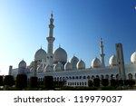 sheikh zayed grand mosque   Shutterstock . vector #119979037