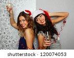 close up girlfriends hold... | Shutterstock . vector #120074053