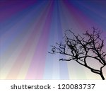black tree | Shutterstock .eps vector #120083737