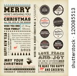 Christmas Typography Decoratio...