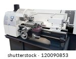The Image Of A Lathe
