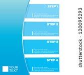 vector paper progress... | Shutterstock .eps vector #120095293