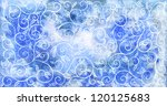 hand drawn vintage texture for...   Shutterstock . vector #120125683