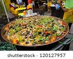 food. paella. spanish food.... | Shutterstock . vector #120127957