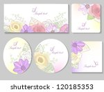 Card Templates With Flowers...