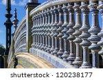 ceramic fence in plaza de... | Shutterstock . vector #120238177
