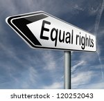 equal rights and opportunities...   Shutterstock . vector #120252043