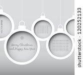 Vector Christmas Balls   Cut...